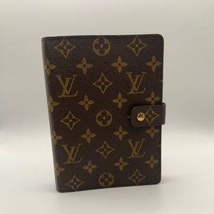 Authentic Louis Vuitton Agenda MM
